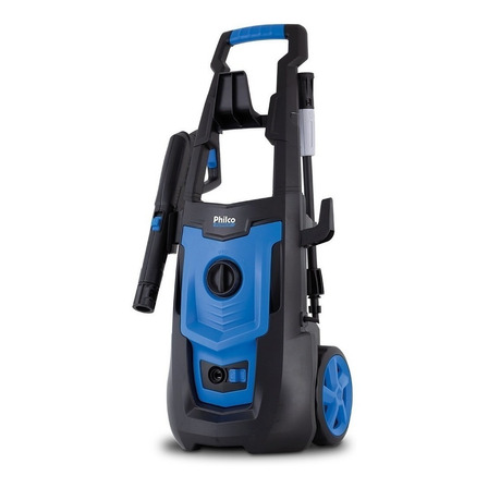 Lavadora de alta pressão Philco PLA3100 azul com 2100psi de pressão máxima 127V