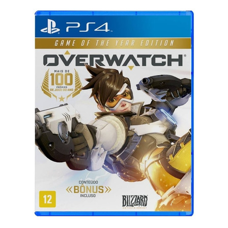 Overwatch Game of the Year Edition Físico PS4 Blizzard Entertainment