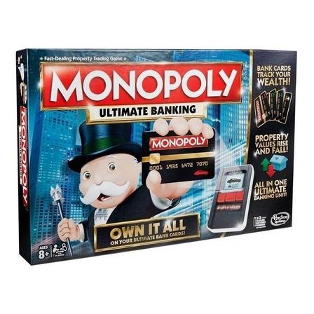 Juego de mesa Monopoly Ultimate Banking Hasbro