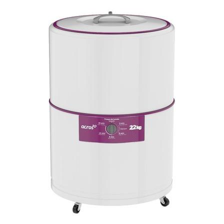 Lavadora semiautomática Acros ALF2253E blanca 22kg