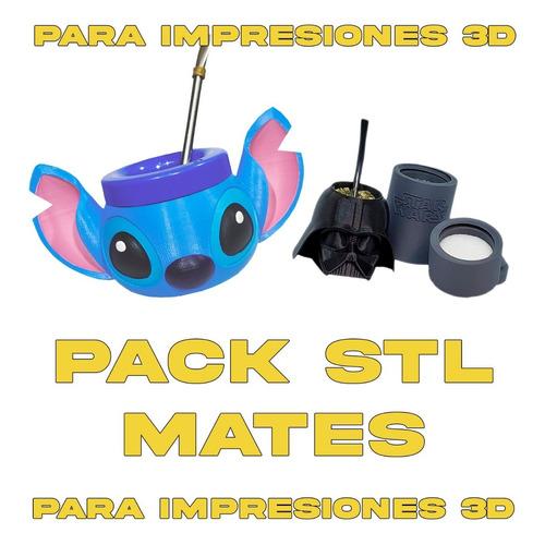 Pack Stl Mates - El Mas Completo