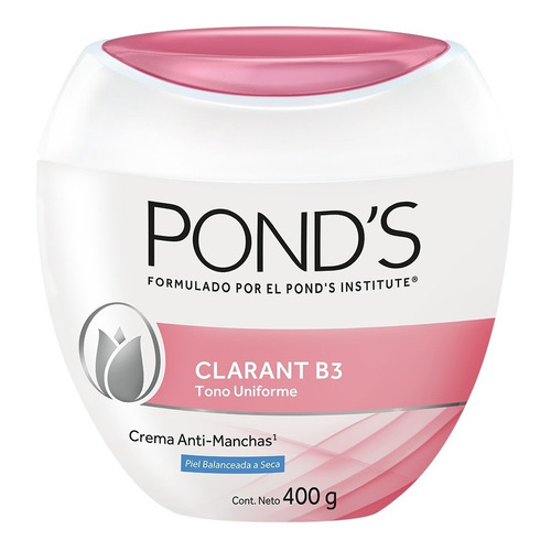 Crema Facial  Clarant B3 Piel Balanceada A Seca Pond's 400g