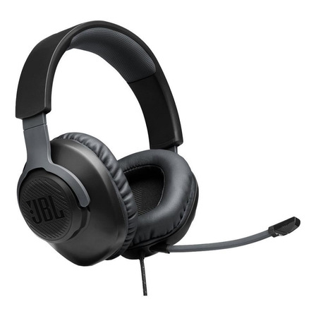 Headset over-ear gamer JBL Quantum 100 preto