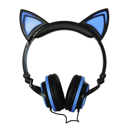 Fone de ouvido Exbom HF-C22 preto e azul