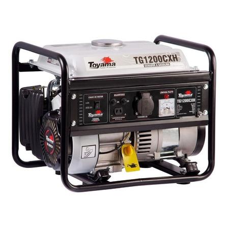 Gerador portátil Toyama TG1200CXH-220V 1100W monofásico com tecnologia AVR