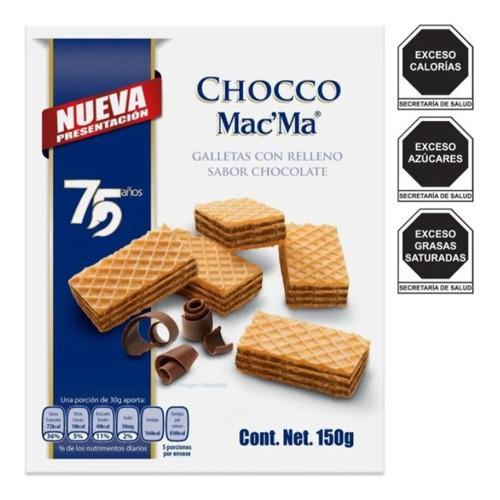 Galleta Macma Chocco 150g