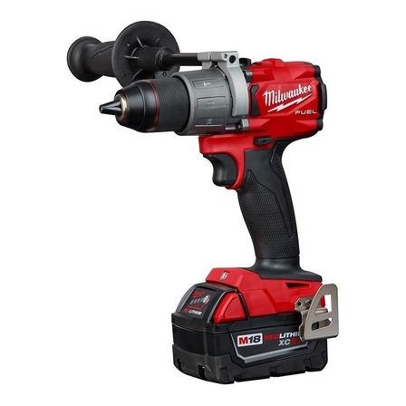 Taladro eléctrico percutor y destornillador Milwaukee M18 Fuel 2804-22 inalámbrico 2000rpm rojo 18V
