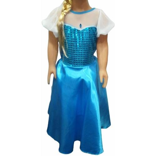 Disfraz Princesa Sirenita, Frozen, Blancanieves, Bella Y Más