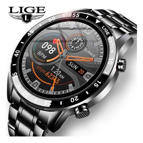 Lige - Reloj Inteligente Para Hombre (bluetooth, Impermeable