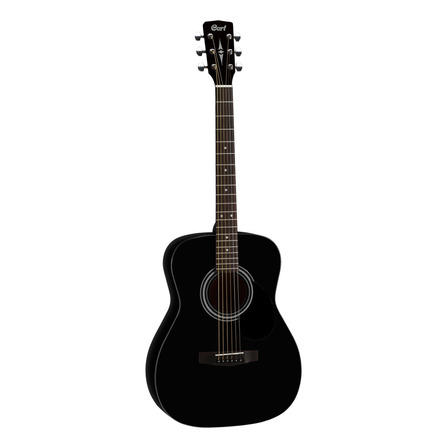 Guitarra acústica Cort  Standard AF510  black satin
