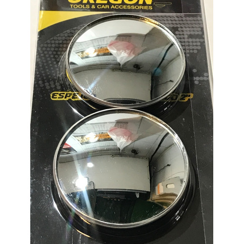Espejo Retrovisor Auto Moto Camion P/ Puntos Ciegos.x2 E3002