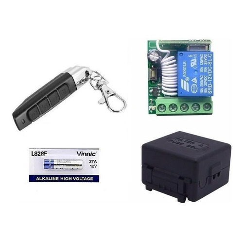 Modulo De 1 Rele Luces Control Remoto Rf 12v Armodl433rel