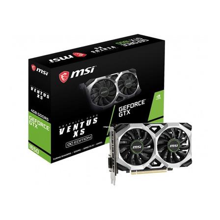 Placa de video Nvidia MSI  Ventus XS GeForce GTX 16 Series GTX 1650 GEFORCE GTX 1650 D6 VENTUS XS OC OC Edition 4GB