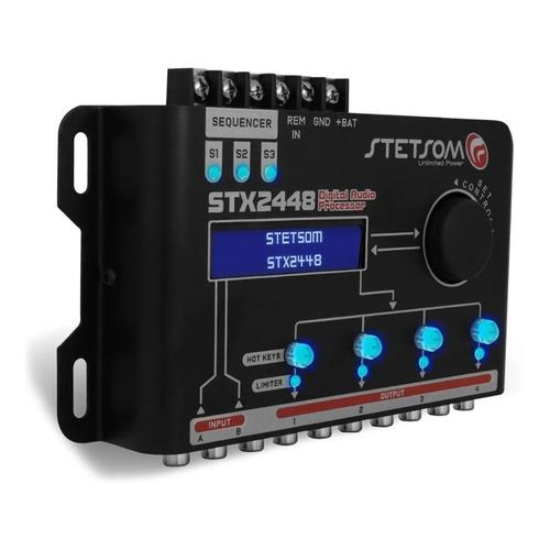 Processador Crossover De Áudio Digital Stetsom Stx-2448