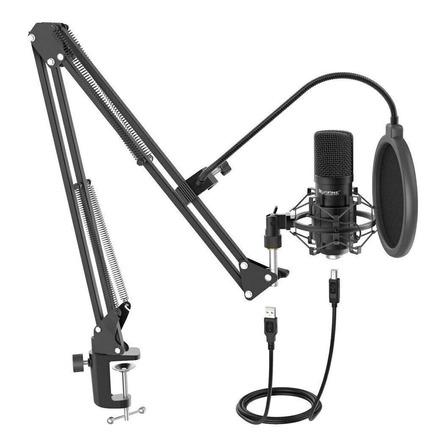 Micrófono Fifine T730 condensador  cardioide negro