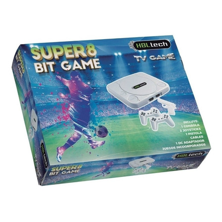 Consola HBL Tech Family Super 8 Bit Game gris