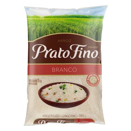 Arroz Branco Tipo 1 Prato Fino Pacote 5kg Prato Fino