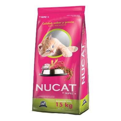 Nucat Croquetas Para Gatos 15 Kg. By Nupec