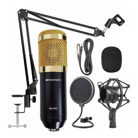 Micrófono Newvision NW-800 condensador  cardioide