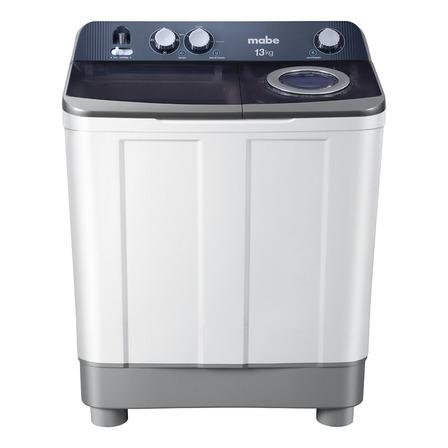 Lavadora semiautomática Mabe LMDX3124P blanca 13kg 127V