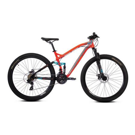 Mountain bike Mercurio Doble Suspensión Expert DH  2020 R29 frenos de disco mecánico color naranja
