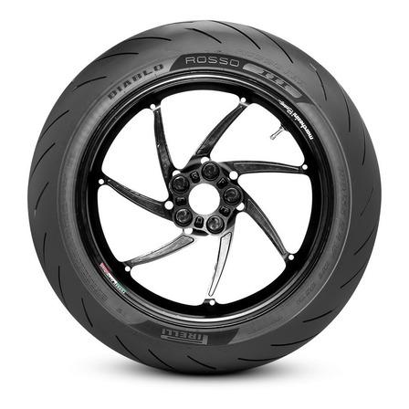 Cubierta trasera para moto Pirelli Supersport Diablo Rosso II para uso sin cámara 140/70 R17 H 66