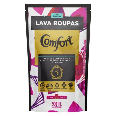 Sabão líquido Comfort Fiber Protect sachê 900ml