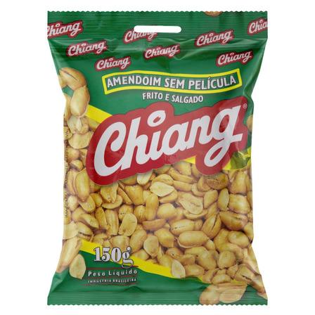 Amendoim Chiang Frito e Salgado sem glúten 150 g
