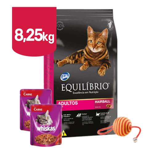 Comida Gato Equilibrio Adulto 7,5kg + Promo!