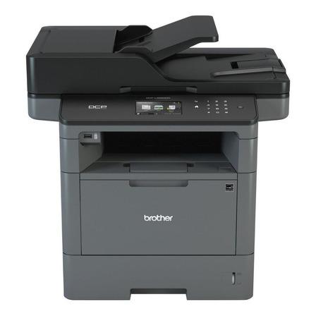 Impresora multifunción Brother Business DCP-L5650DN con wifi gris y negra 110V - 120V
