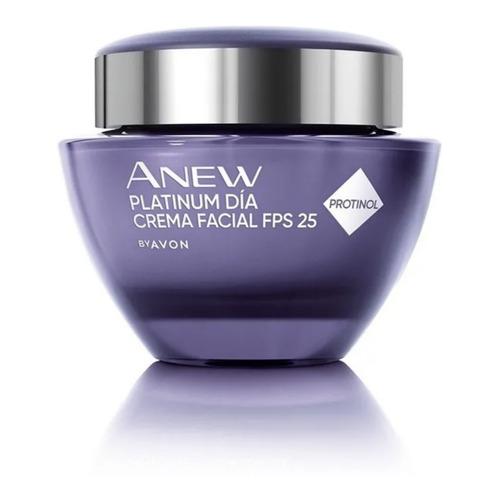 Crema Facial Antiarrugas Avon Anew Platinum 65+ Fps 25