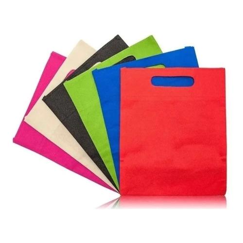 Pack 50 Bolsas Tnt De Genero 35 X 25 Cm 1 Color Por Pack