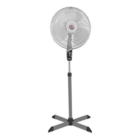 """Ventilador de pie Man VPG-0018 gris con 3 aspas de  plástico, 18"""" de diámetro 127V"""