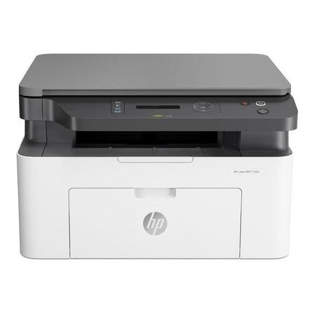 Impressora HP LaserJet Pro 135w com wifi branca e preta 220V - 240V 4ZB83A