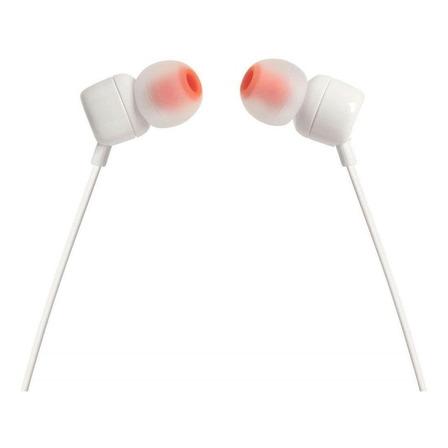 Fone de ouvido in-ear JBL Tune 110 white