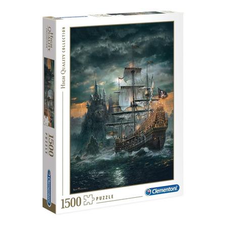 Rompecabezas Clementoni The Pirate Ship de 1500 piezas