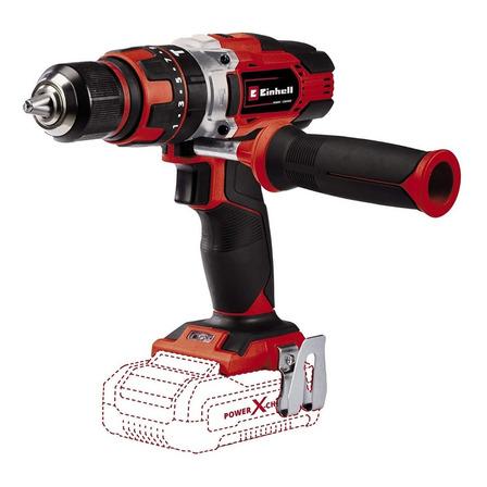 Taladro eléctrico percutor y destornillador Einhell Power X-Change TE-CD 18/48 Li Solo inalámbrico 1500rpm 50Hz/60Hz negro/rojo 200V - 250V 18V