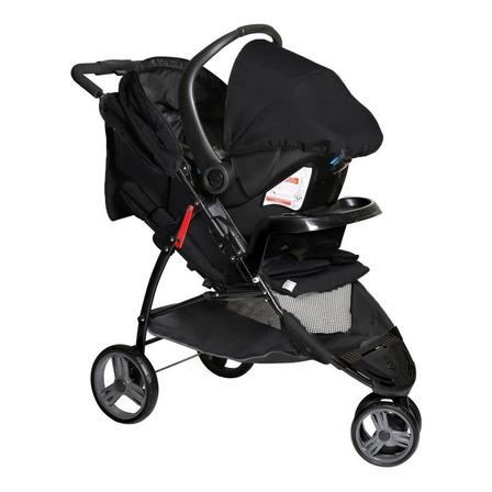 Carrinho de bebê Galzerano Cross Trail de 3 rodas preto