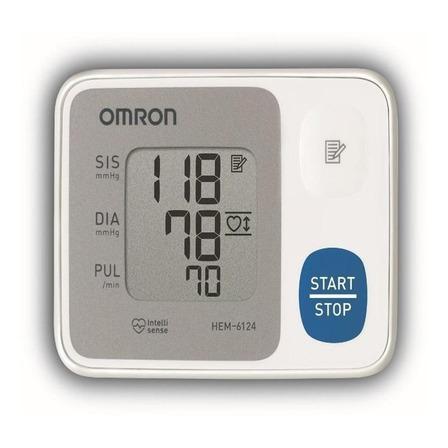Medidor de pressão arterial digital de pulsoOmron HEM-6124