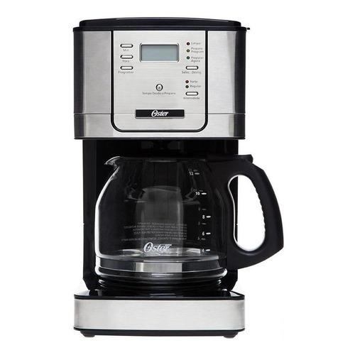 Cafetera Oster Flavor BVSTDC4401 automática negra y plata de filtro 220V