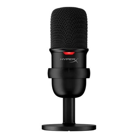 Microfone HyperX SoloCast condensador  cardióide preto