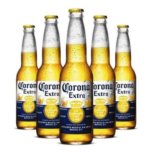 Cerveja Corona 330 Ml Long Neck - Pack Com 6 Unidades