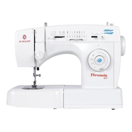 Máquina de coser Singer Florencia 69 portable blanca 220V
