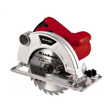 Sierra circular eléctrica Einhell TC-CS 1300 185mm 1300W 50Hz roja 220V