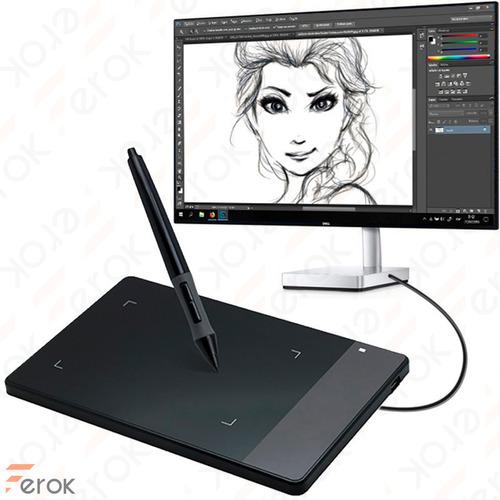 Tableta Gráfica Digital Huion 420 Dibujo Diseño Wacom