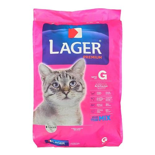 Comida De Gato Lager 22 Kg + Envío Gratis / Mundo Mascota