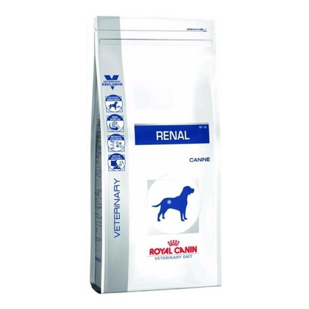 Alimento Royal Canin Veterinary Diet Canine Renal para cachorro adulto todos os tamanhos sabor mix em saco de 2kg
