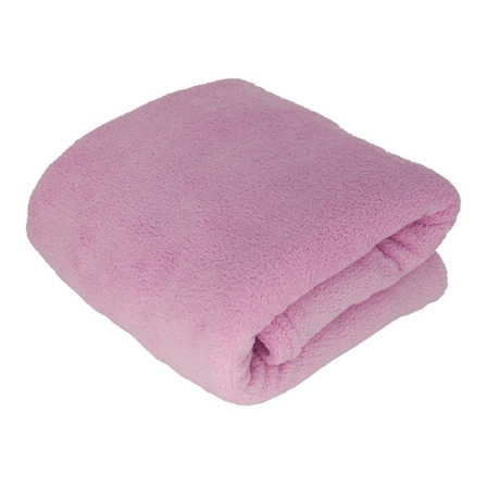 Cobertor Hazime Enxovais Microfibra Casal rosa-claro