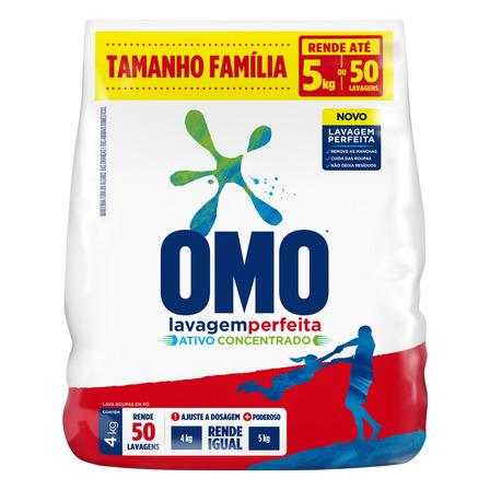 Sabão em pó Omo Lavagem Perfeita pacote 4kg