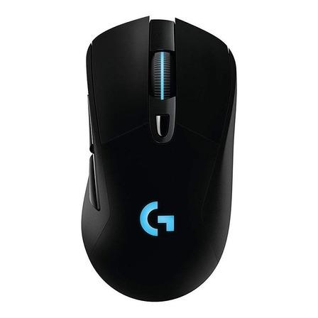 Mouse para jogo sem fio recarregável Logitech  G Series Lightspeed G703 preto